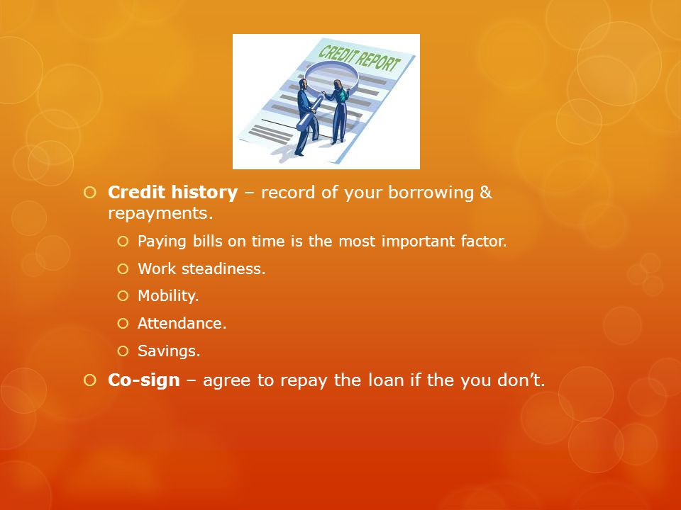Your Credit Rating Credit rating Payment history Current debt Length of credit history New accounts & inquiries Kind of credit you use