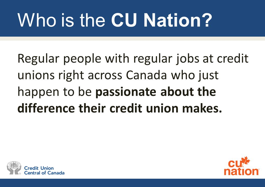 Who is the CU Nation.