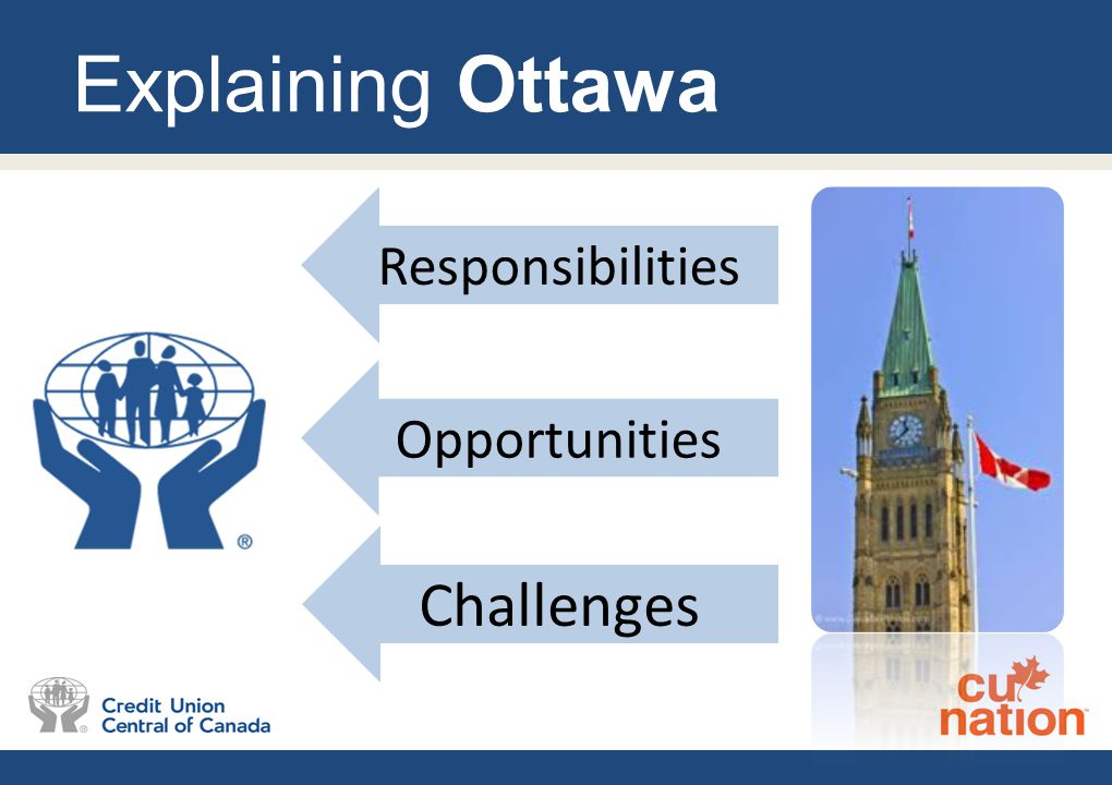 Explaining Ottawa Responsibilities Opportunities Challenges