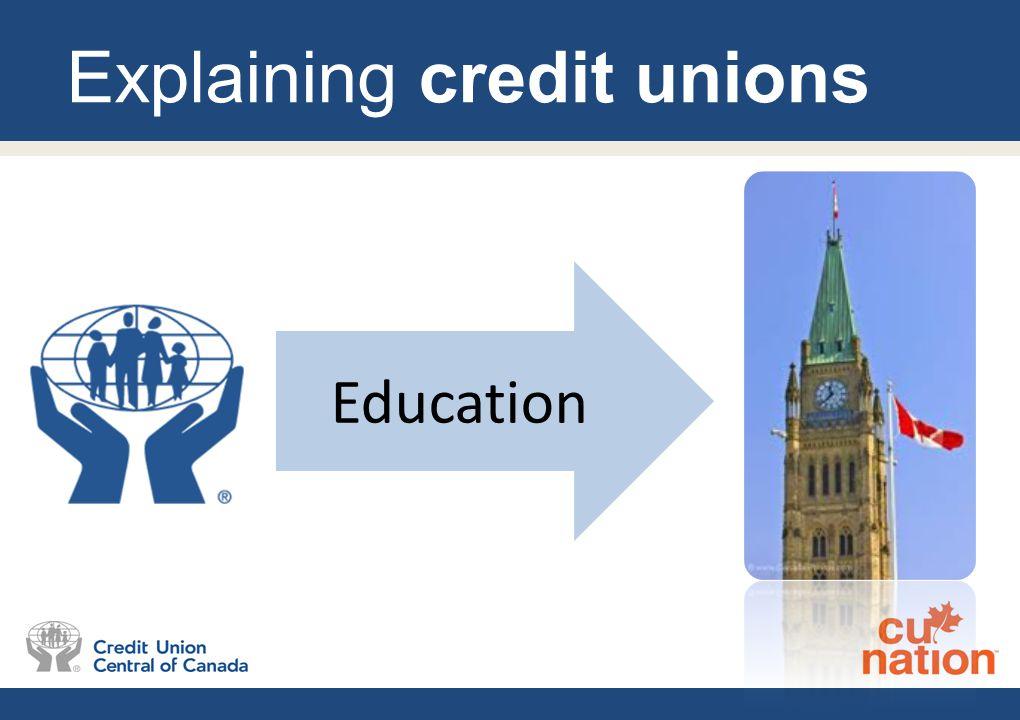 Explaining credit unions Education