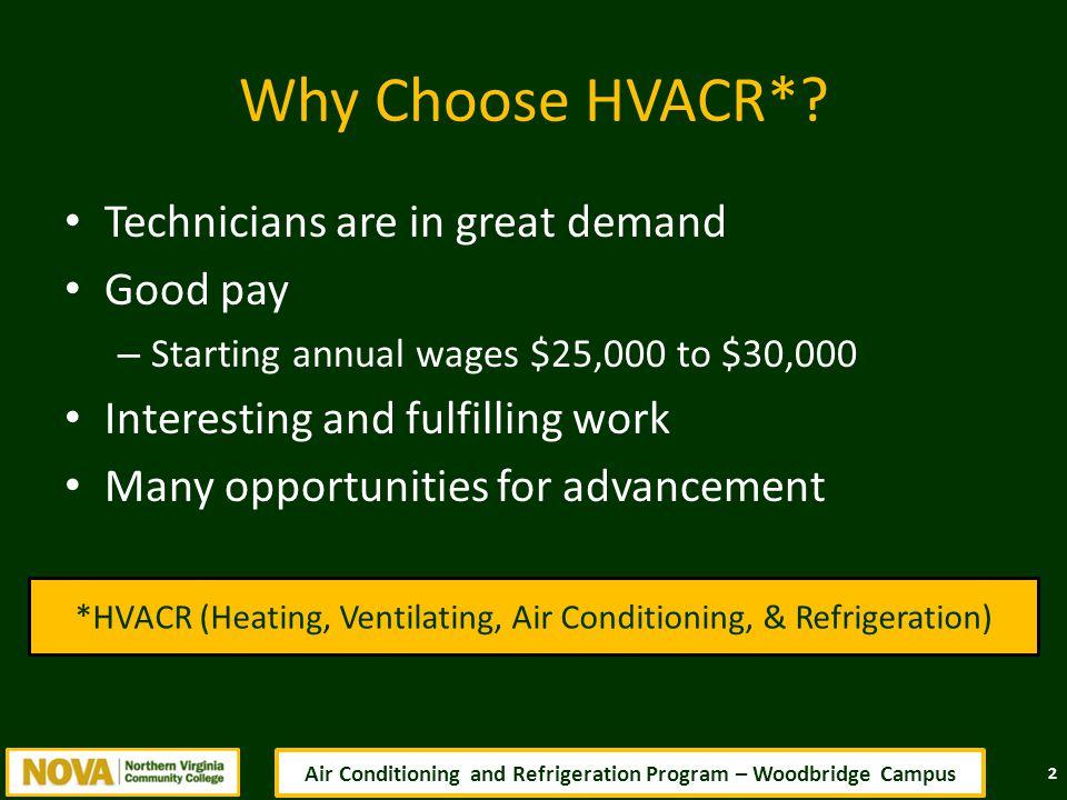 Why Choose HVACR*.
