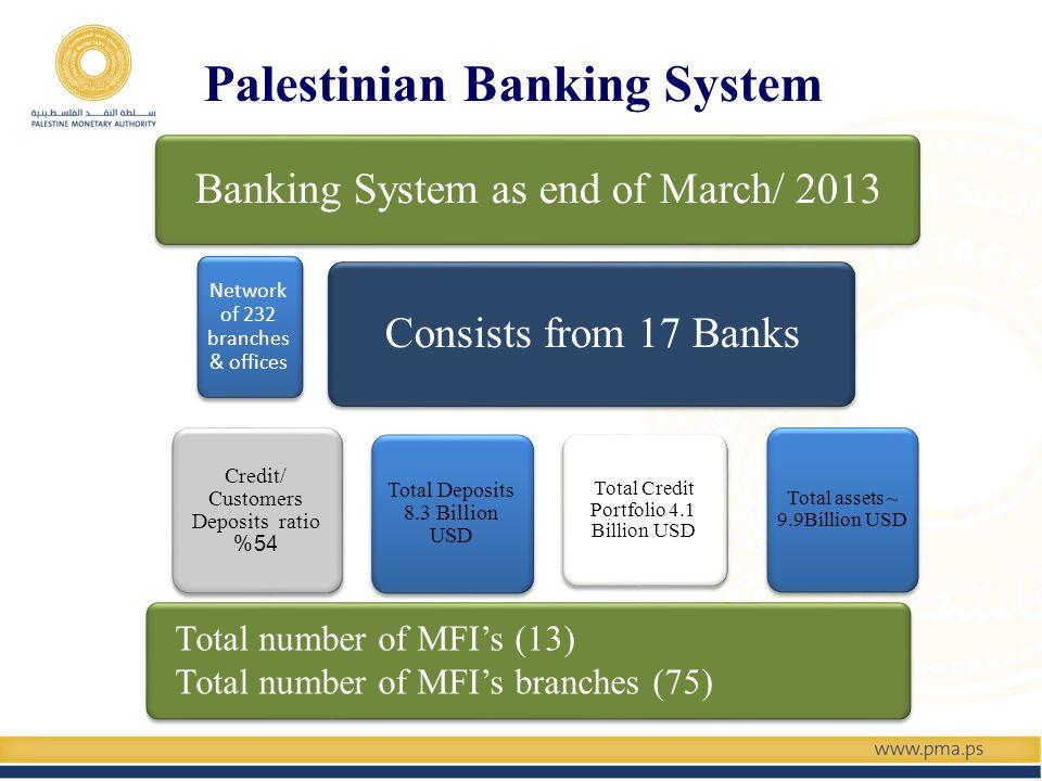 Develop Credit Registry system Develop Credit Scoring system Develop Bounced Checks system Develop Mortgage & Housing system SMEs Database (under development) PMA Credit Bureau Systems
