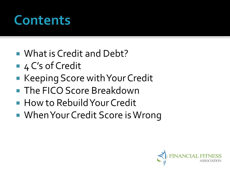 Credit: When a lender is willing to loan you money in exchange for your promise to repay it, usually with interest.