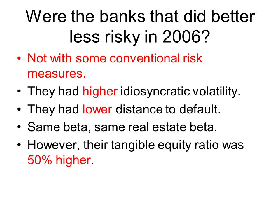 The worst financial crisis in the last fifty years Robert Rubin