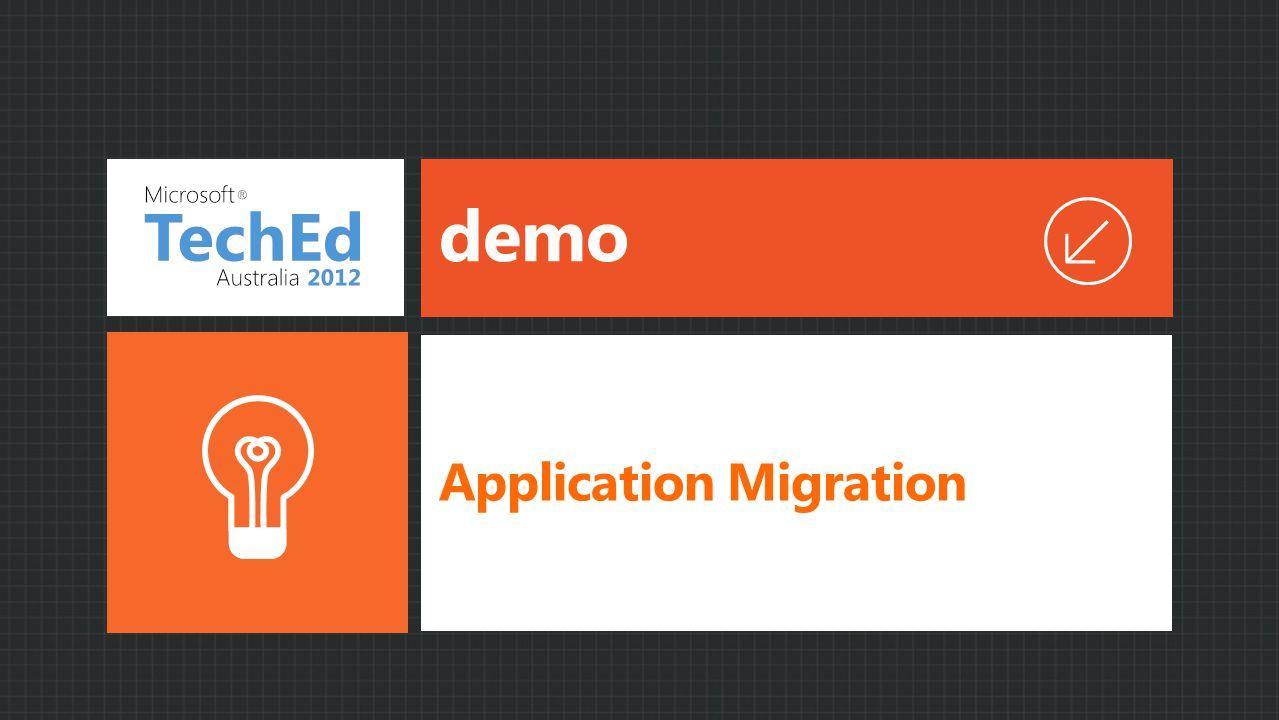 demo Application Migration
