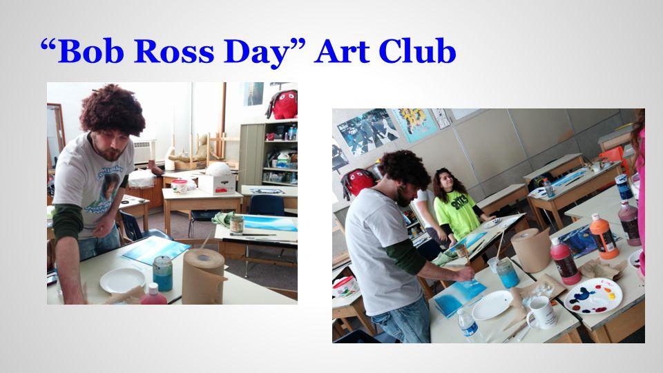 Bob Ross Day Art Club