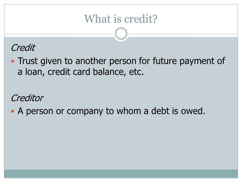 When to use credit WHEN TO USE CREDIT Can you describe a situation when it is a good time to use credit and when it is NOT a good time to use credit?