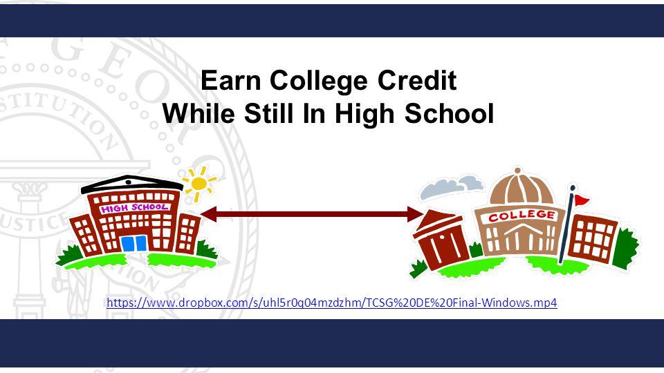 https://www.dropbox.com/s/uhl5r0q04mzdzhm/TCSG%20DE%20Final-Windows.mp4 Earn College Credit While Still In High School