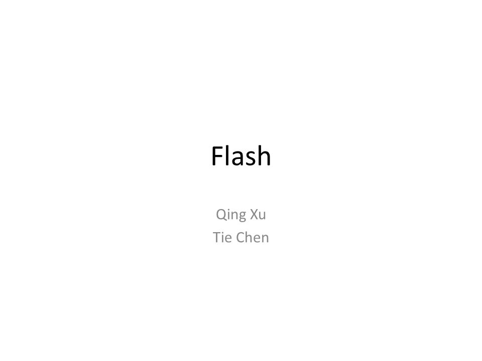 Flash Wear Leveling Static Wear Leveling: - Works the same as dynamic wear leveling - Static blocks that do not change are periodically moved Disadvantage: - Moving static blocks takes time