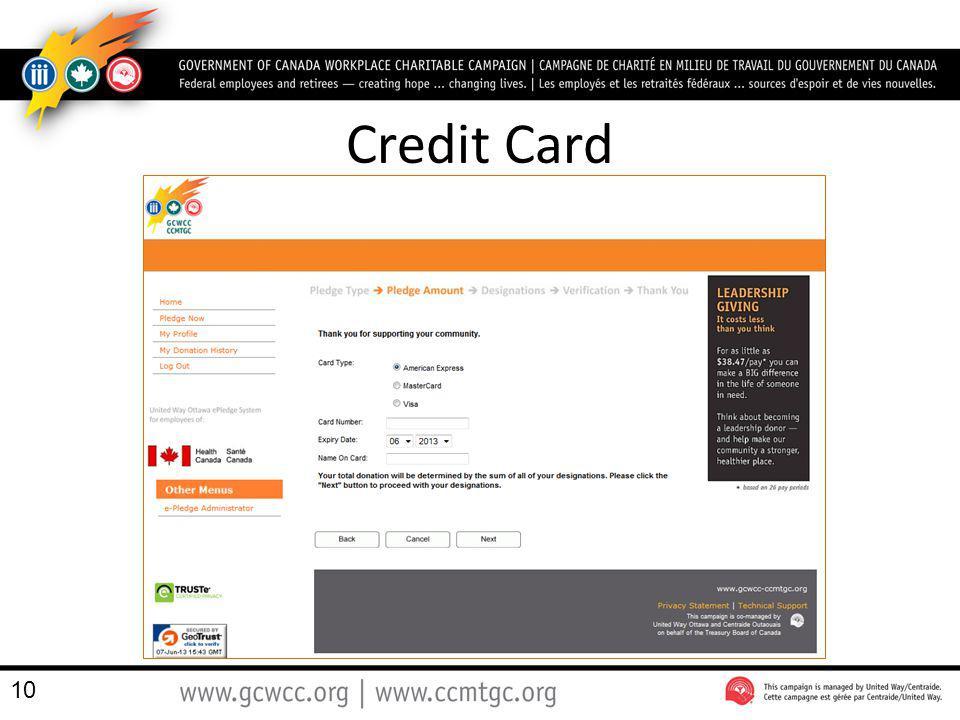 Credit Card 10