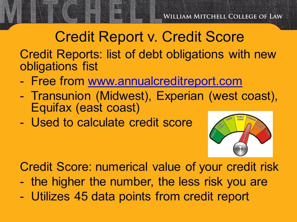 Credit Report v.