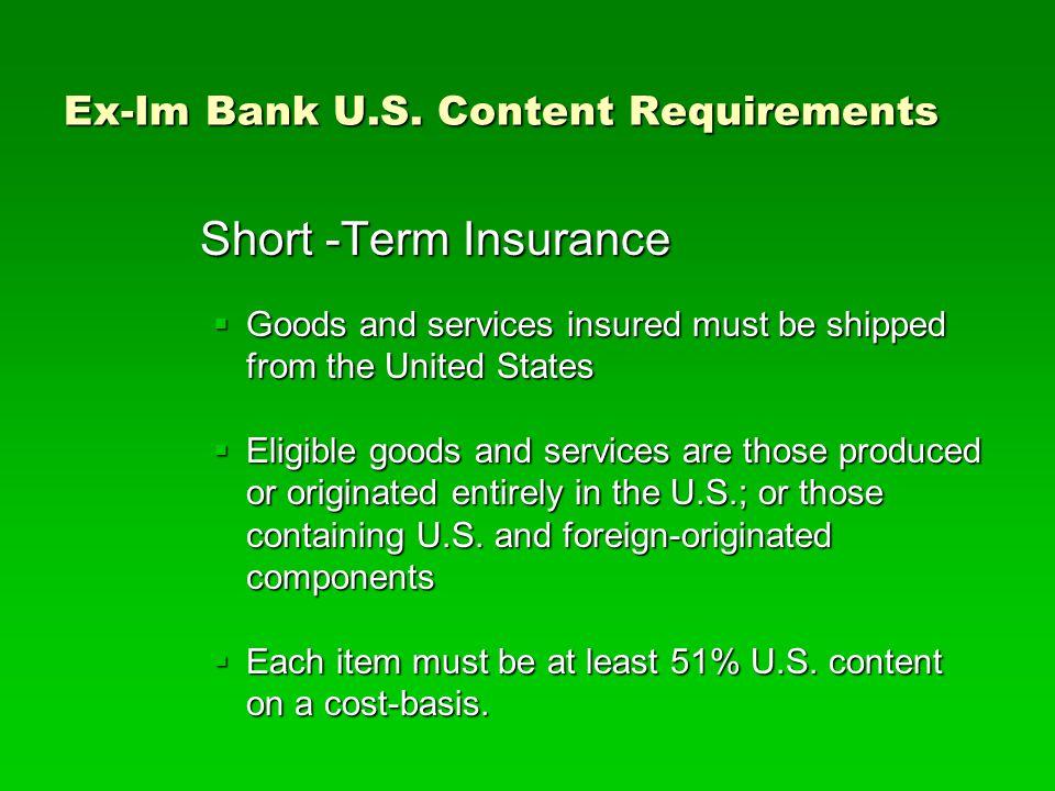Ex-Im Bank U.S.