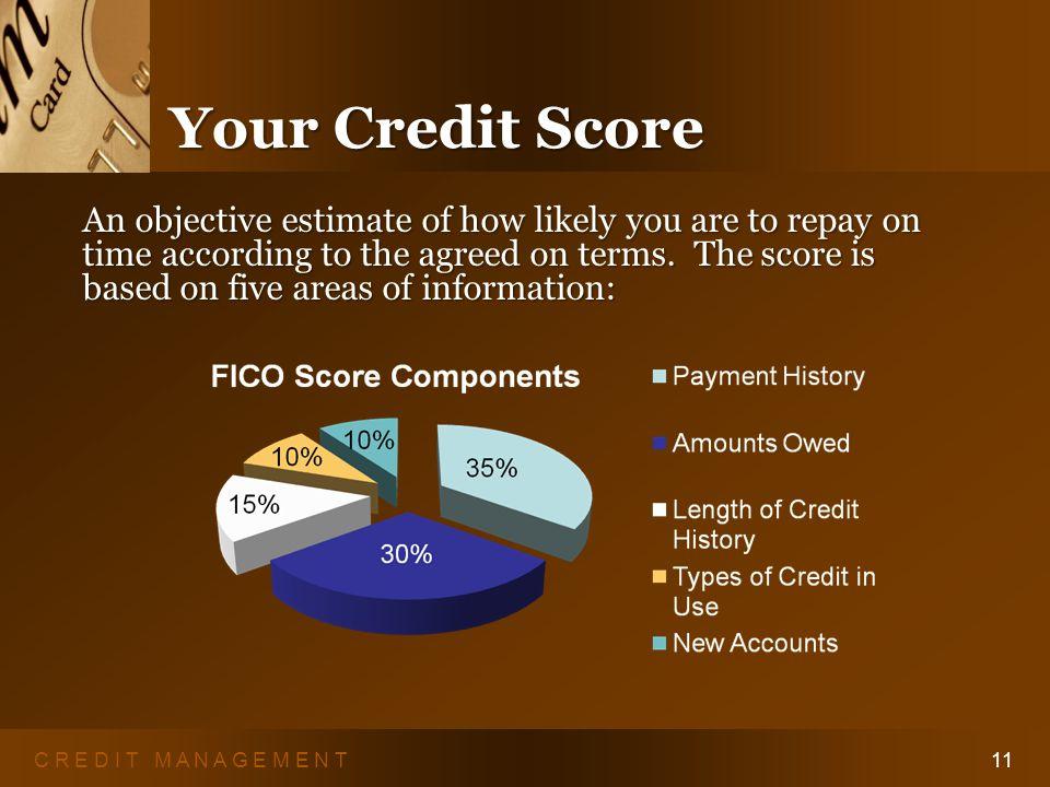 C R E D I T M A N A G E M E N T10 Credit Reports Correcting Wrong Information Correcting Wrong Information 1.Inform CRA in writing.