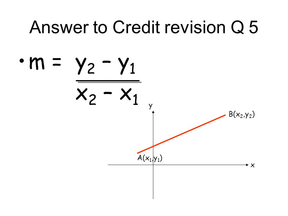 Answer to Credit revision Q 8 a 2 = b 2 +c 2 -2bccosA A B C a b c