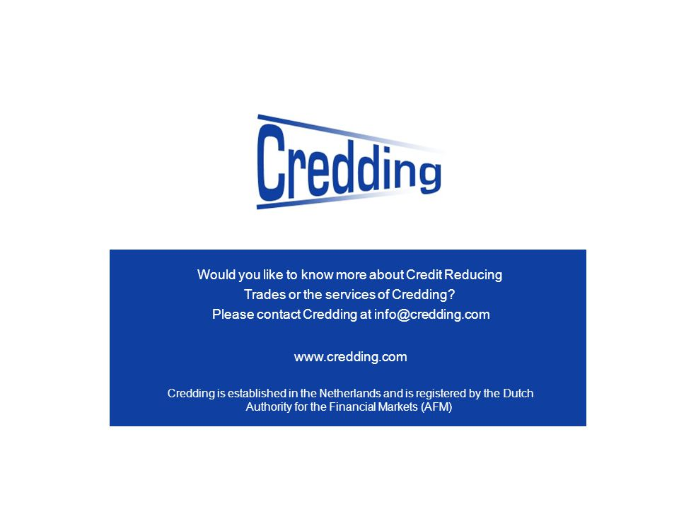 Would you like to know more about Credit Reducing Trades or the services of Credding.