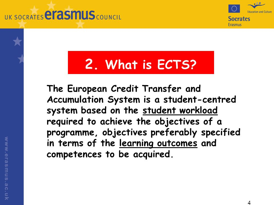 4 2. What is ECTS.