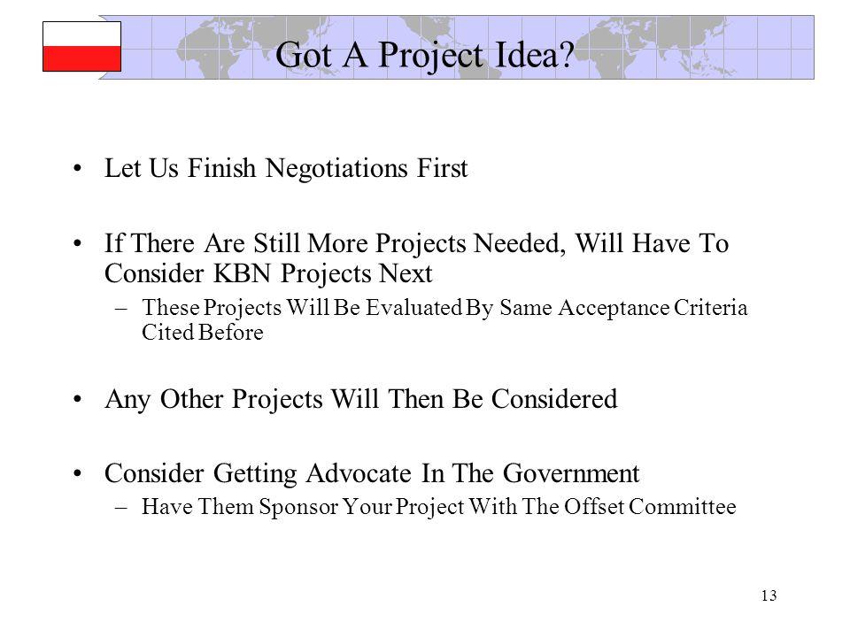13 Got A Project Idea.
