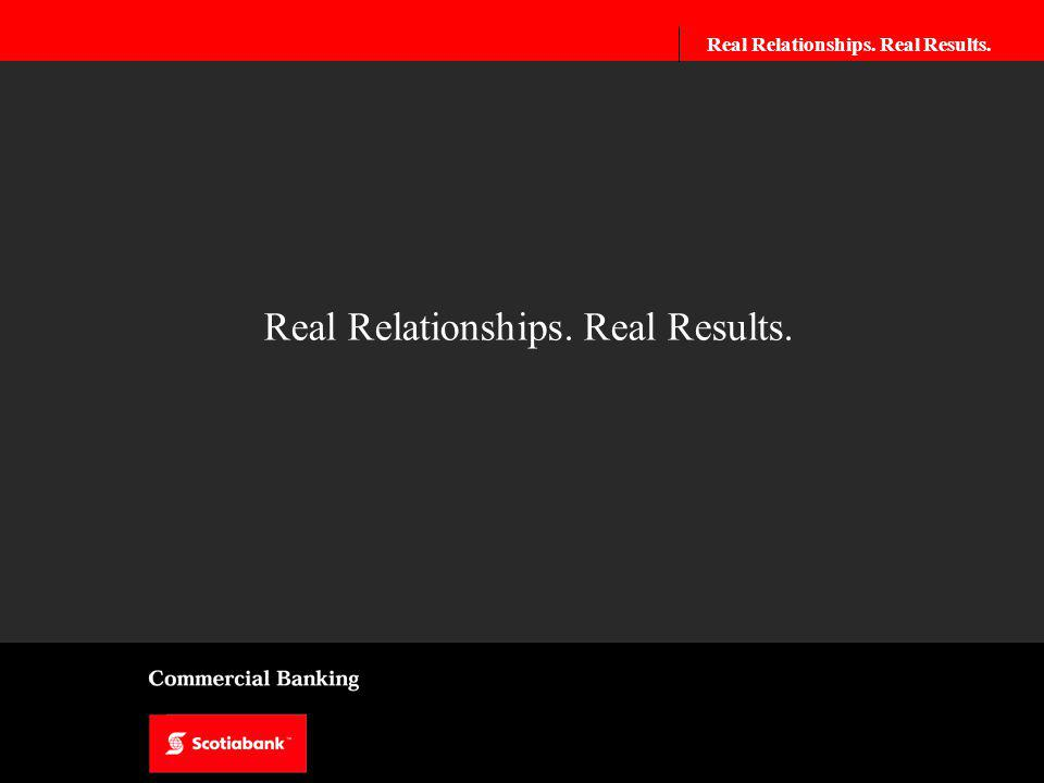 Real Relationships. Real Results. Real Relationships.Real Results.