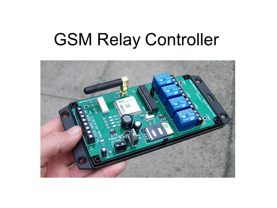 GSM Relay Controller