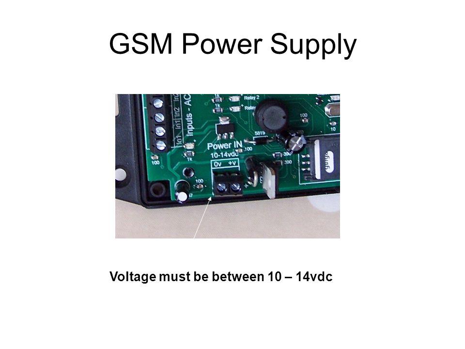 GSM Setup Jumper in Position