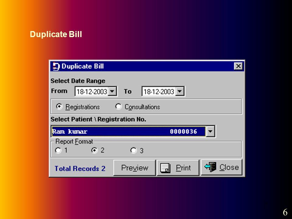 7 Duplicate Bill 6