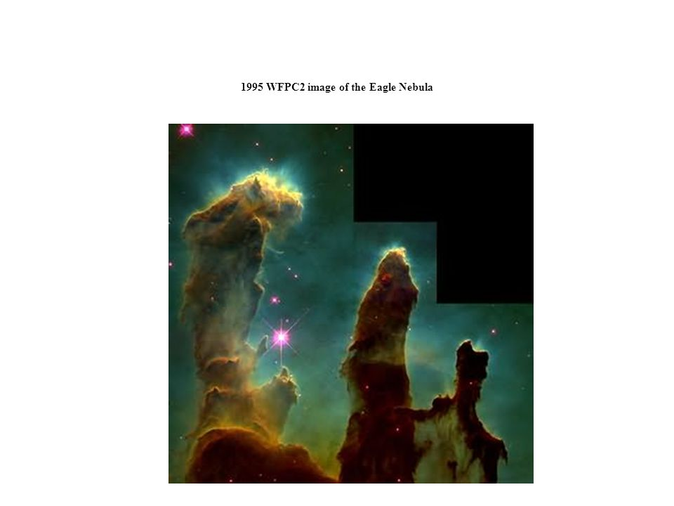 1995 WFPC2 image of the Eagle Nebula