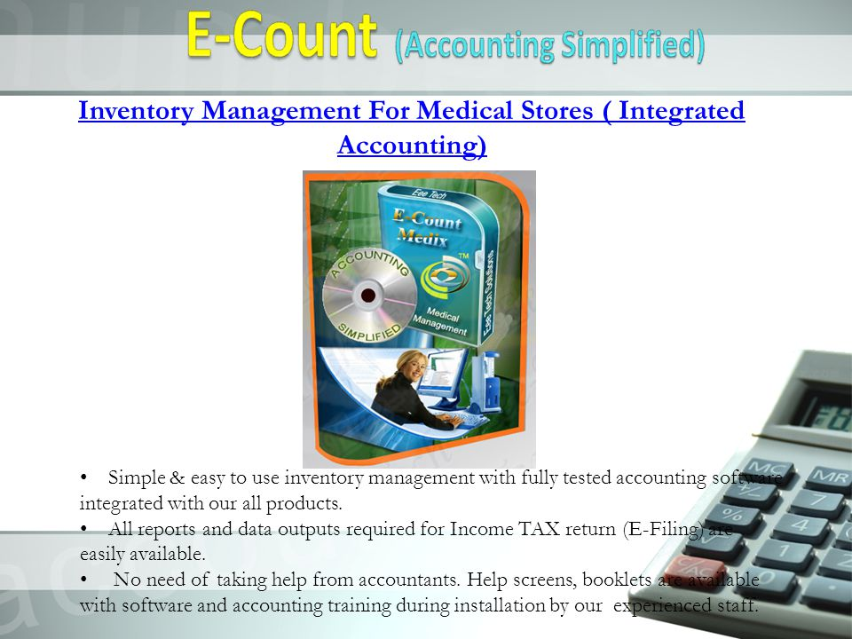 E-Medix : Medical shop Inventory Management Simple & Easy to use Accounting.