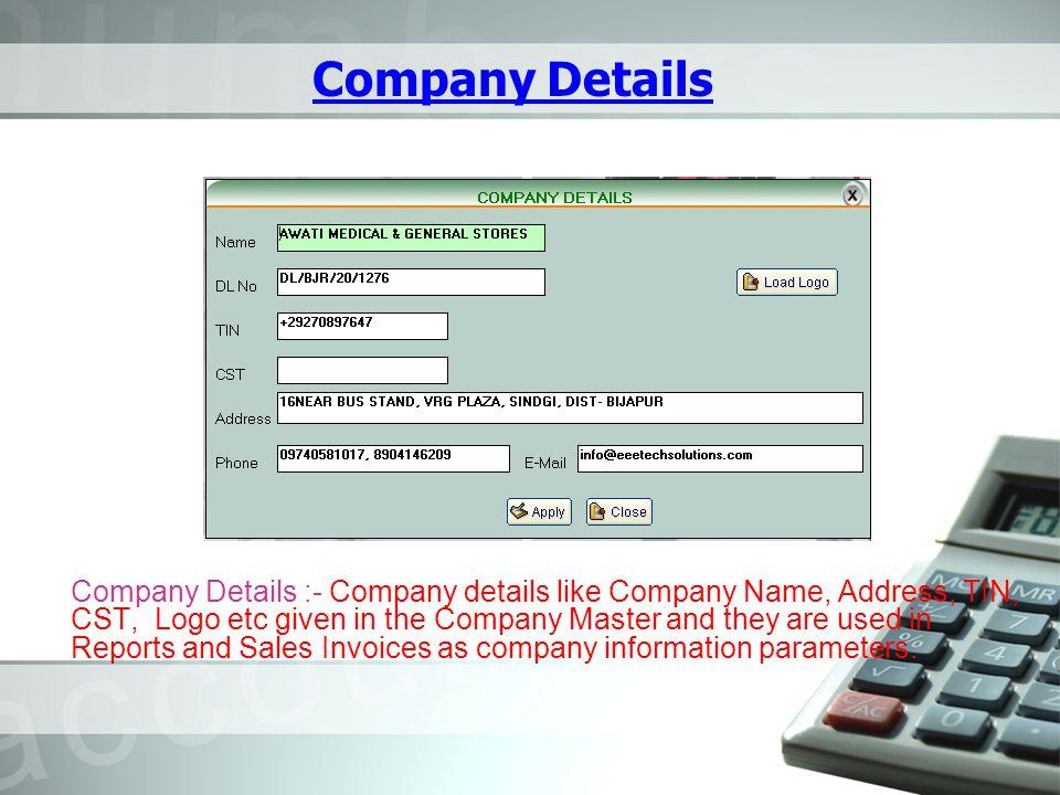Journal Voucher Journal :- Accounts transactions not involving CASH / BANK are normally entered through Journal voucher.