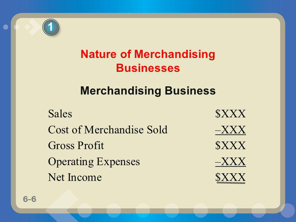 6-17 Net sales is determined by subtracting sales returns and allowances and sales discounts from sales.