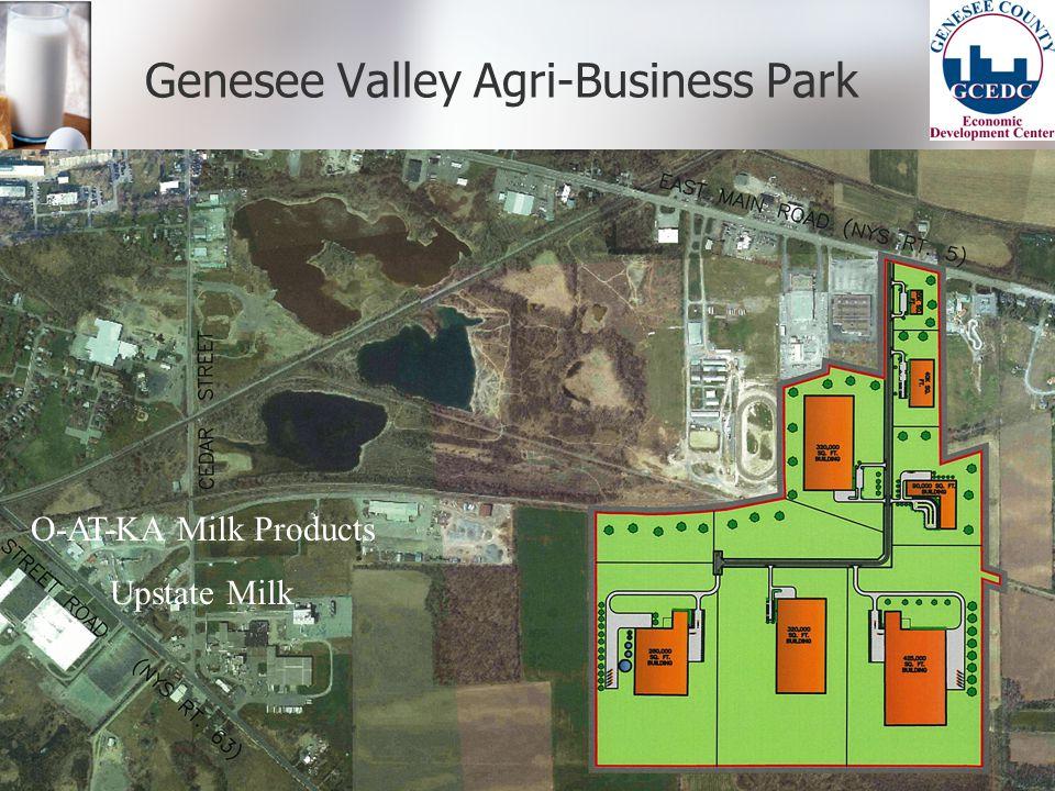 Genesee Valley Agri-Business Park O-AT-KA Milk Products Upstate Milk