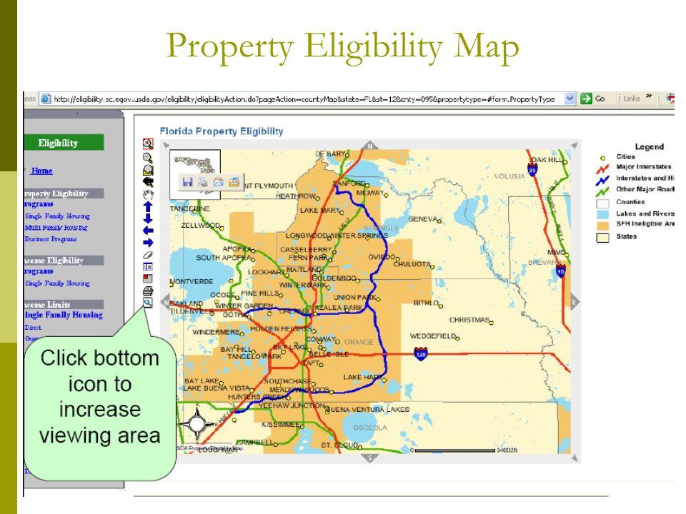 Property Eligibility Map