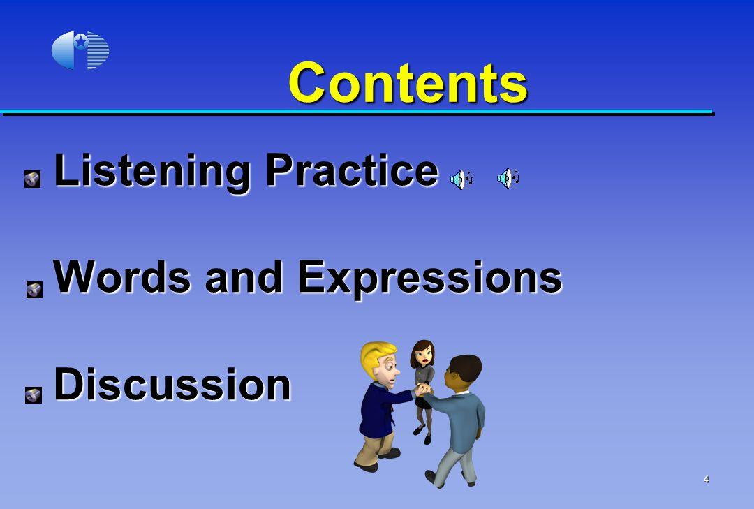 Listening Practice 1.1.Partnership 1. 1.