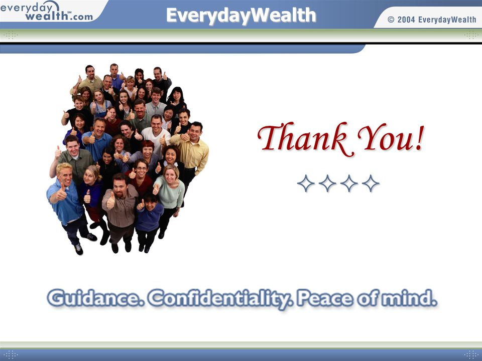 EverydayWealth Thank You!