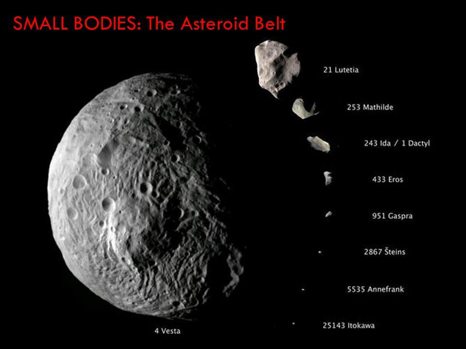 SMALL BODIES: The Asteroid Belt ooooooo
