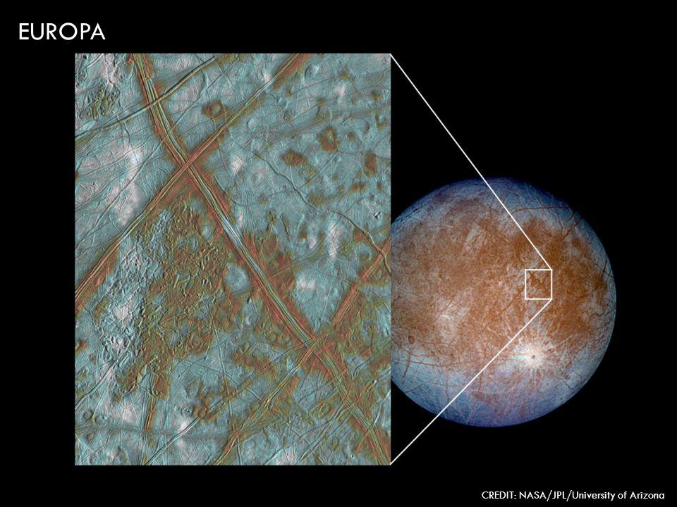 EUROPA CREDIT: NASA/JPL/University of Arizona