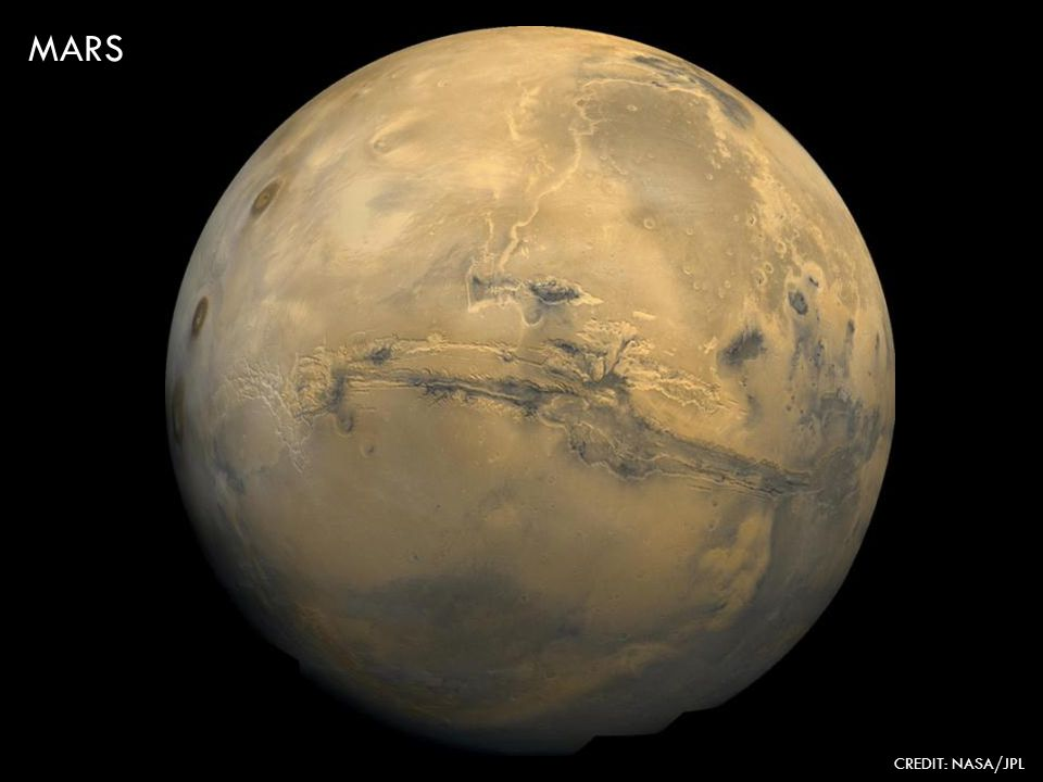 MARS CREDIT: NASA/JPL