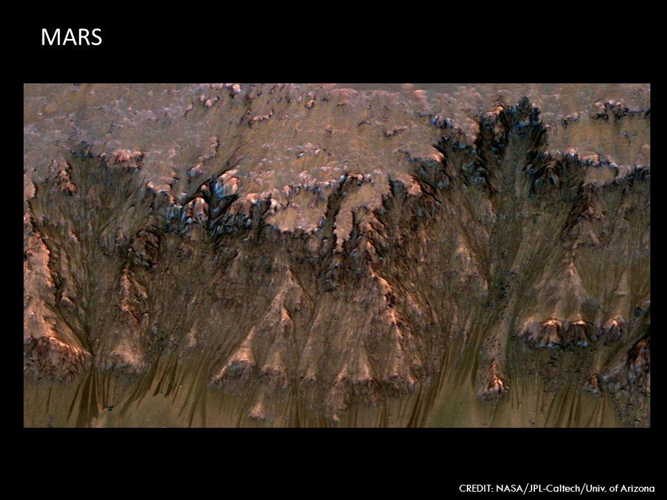 MARS CREDIT: NASA/JPL-Caltech/Univ. of Arizona