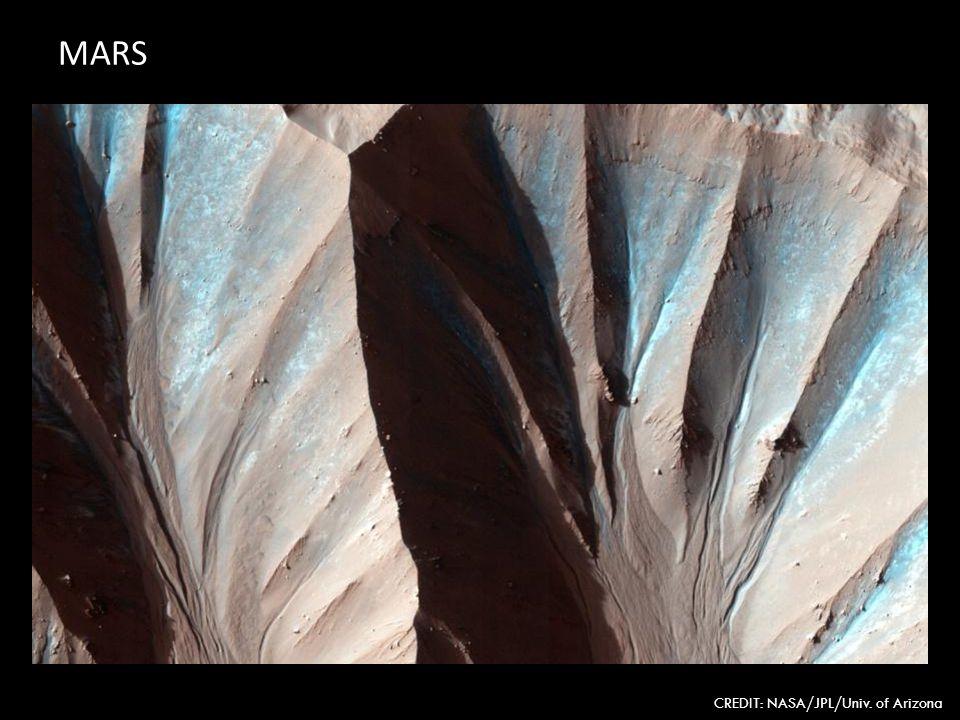 MARS CREDIT: NASA/JPL/Univ. of Arizona
