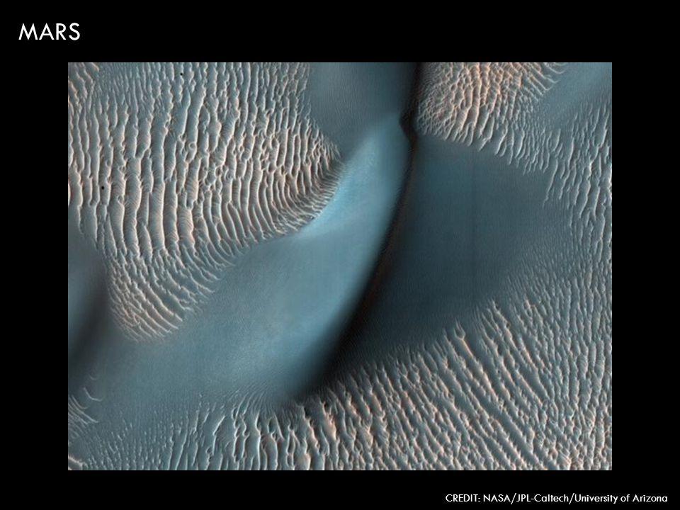 MARS CREDIT: NASA/JPL-Caltech/University of Arizona