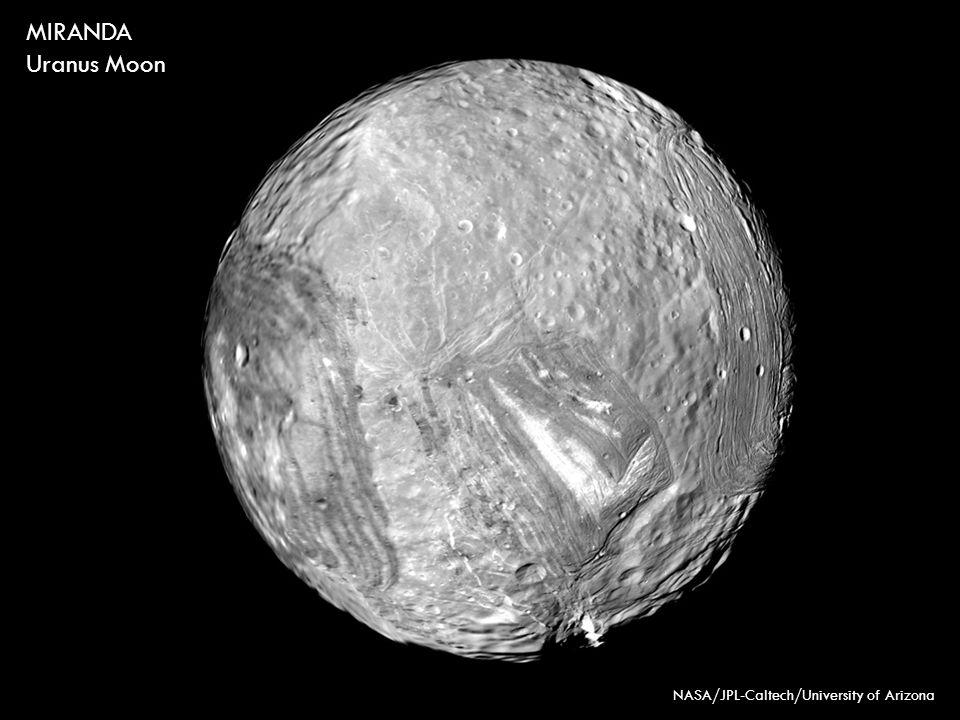 NASA/JPL-Caltech/University of Arizona MIRANDA Uranus Moon