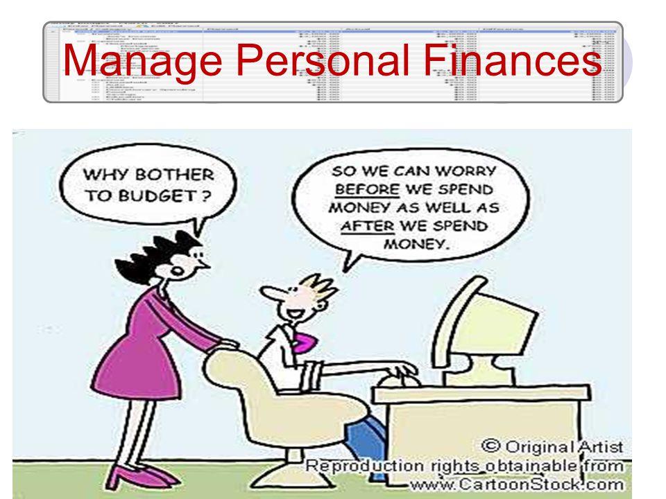 Manage Personal Finances