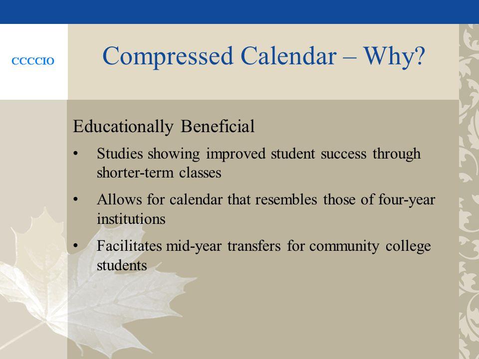 Compressed Calendar – Why.