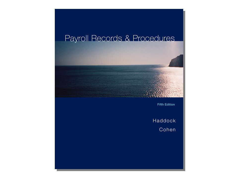 Unit 11 Accounting for Payroll McGraw-Hill/Irwin Copyright © 2006 The McGraw-Hill Companies, Inc.