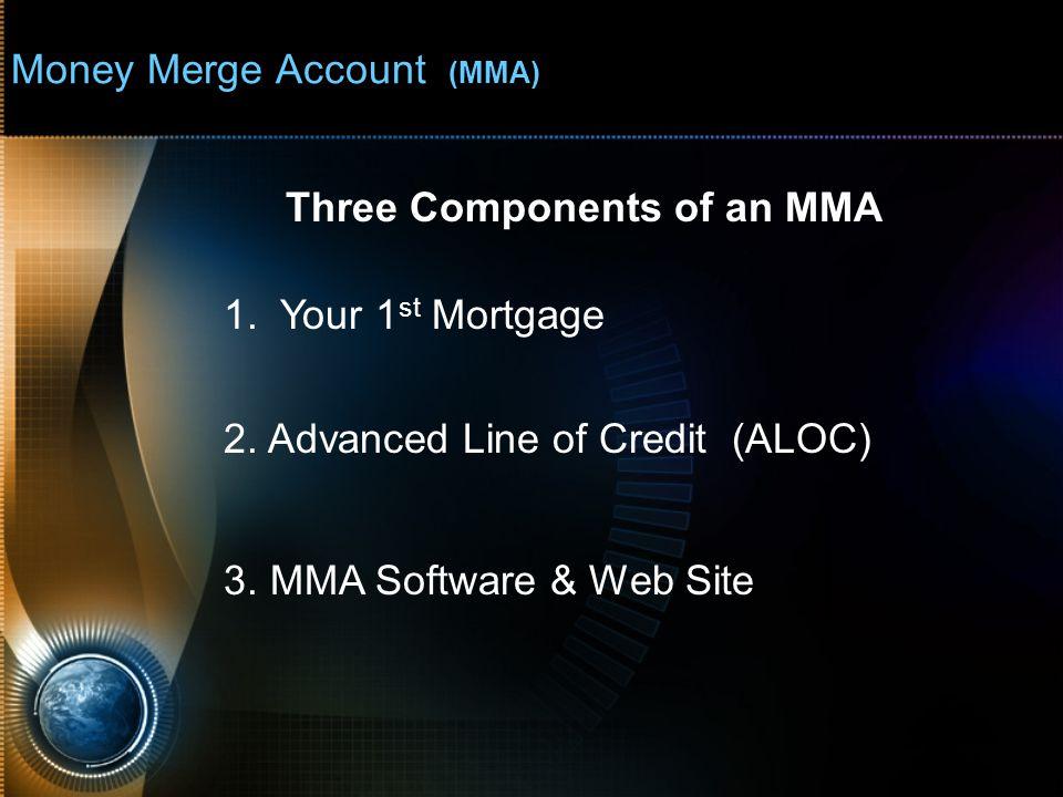 Money Merge Account (MMA) - Real Client - ALOC Balance