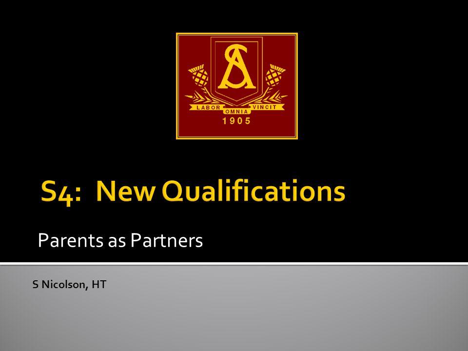 Parents as Partners S Nicolson, HT