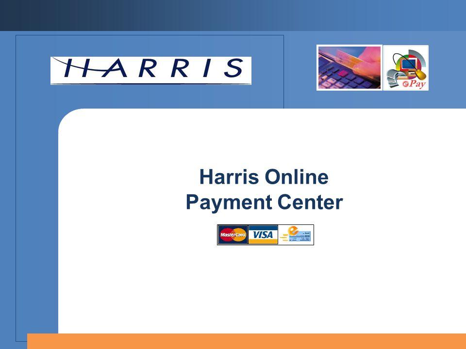 Harris Online Payment Center
