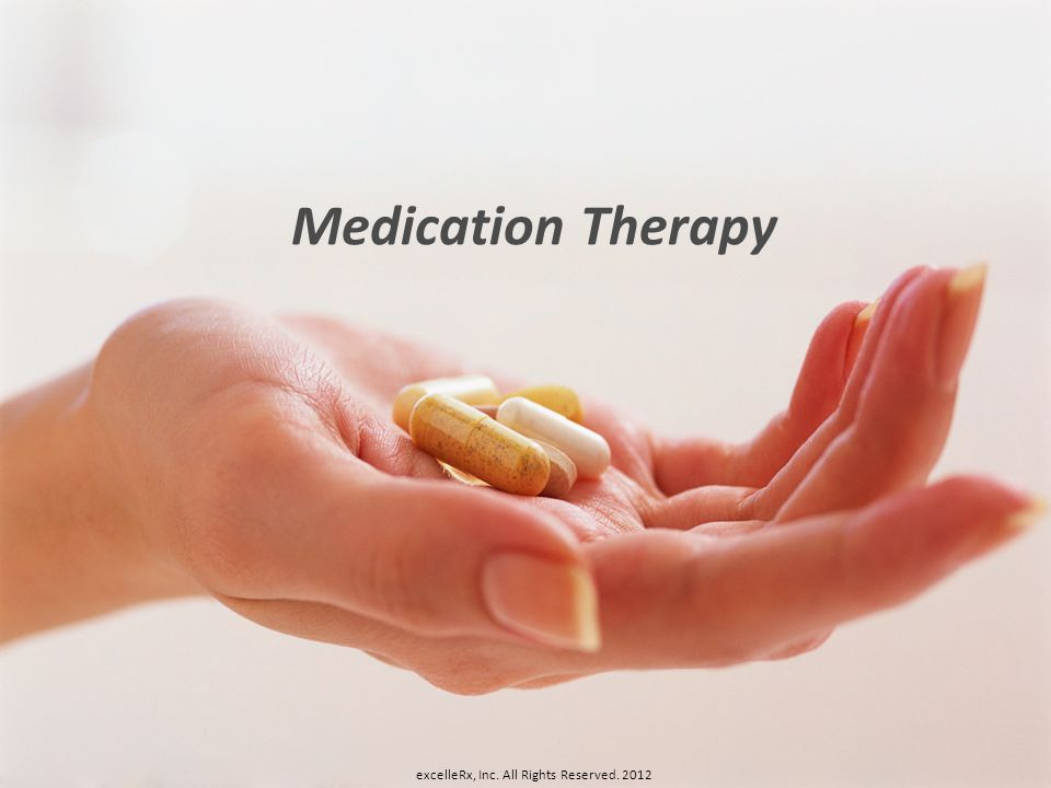 Medication Therapy excelleRx, Inc. All Rights Reserved. 2012