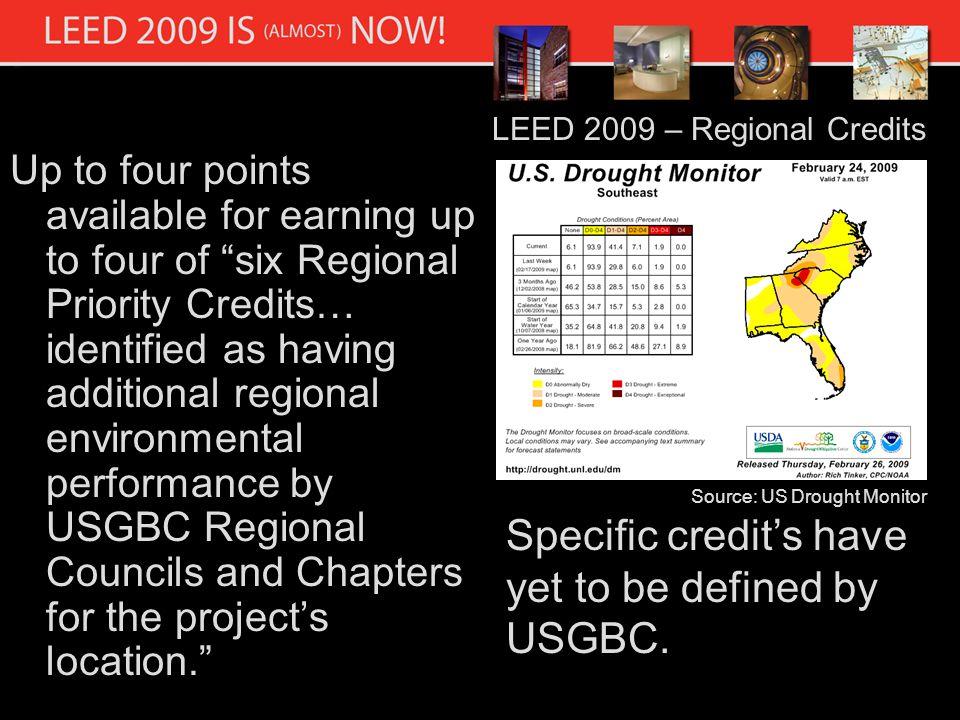 LEED 2009 – Implementation Schedule Source USGBC.org
