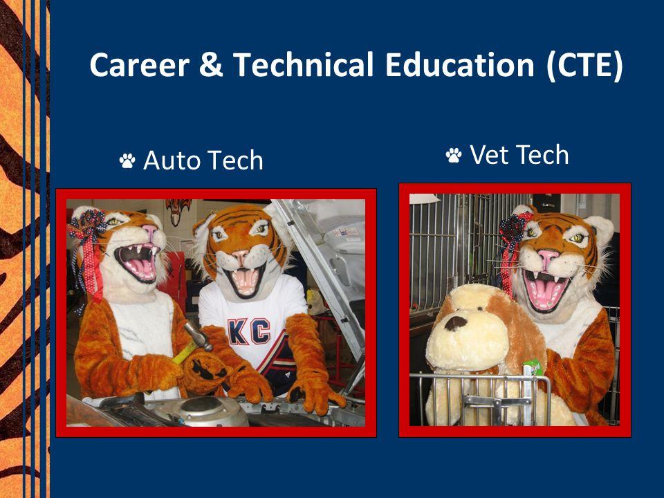 Career & Technical Education (CTE) Auto Tech Vet Tech