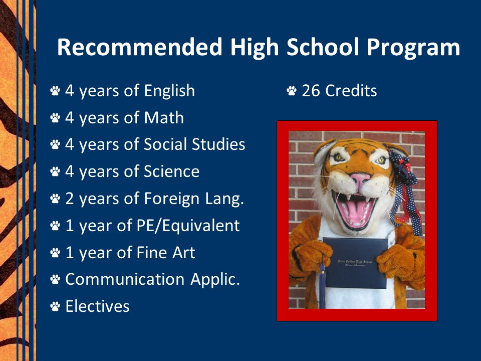 Advanced Academics/ Pre-AP Rigorous coursework & more homework Extra grade points Be better prepared for college Advanced Measure for Distinguished Plan Earn college credit